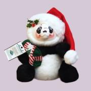 """<撮影使用>14"""" Christmas Panda Bear [アナリー Annalee Dolls 977103]"""