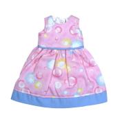 バブルピンクドレス