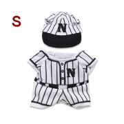 ベースボール(S)/プラッシュコスチューマー [ぬいぐるみ用洋服]