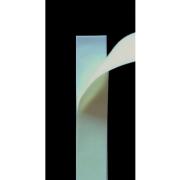 のり付き/メカニカルファスナー 幅2.5cm×長さ20cm(ホワイト) [薄地面ファスナー]