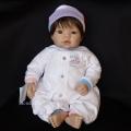 セール!リーミドルトン「Newborn Nursery Baby Doll - Munchkin(髪ブラウン/瞳ブラウン)」