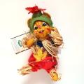 """<撮影使用>6"""" Scarecrow Mouse [アナリー Annalee Dolls 310204]"""
