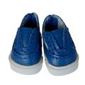 運動靴 25/12mm(ブルー)