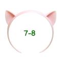 ねこみみカチューシャ 7-8インチ(ライトピンク)