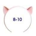 ねこみみカチューシャ 8-10インチ(ライトピンク)