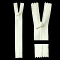 ■在庫販売終了予定■細幅ファスナー 14cm(オフホワイト)