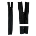 ■在庫販売終了予定■細幅ファスナー 14cm(ブラック)