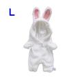 ウサギ(L)/プラッシュコスチューマー [ぬいぐるみ用洋服]