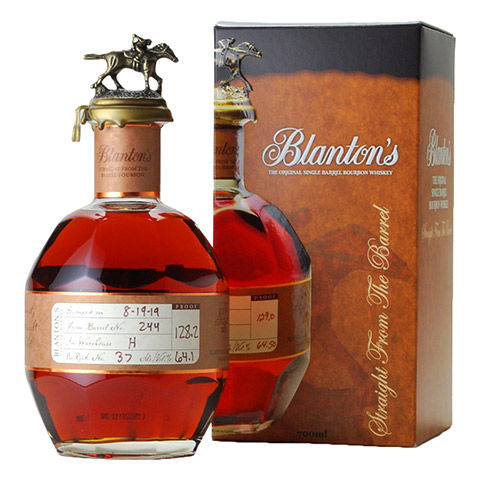 Blanton's Straight from the Barrel/64.1%