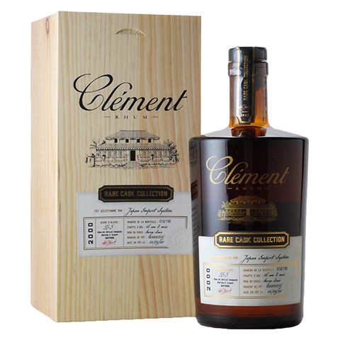 Rhum Clement 2000 Rare Cask Collection/55.3%/500ml
