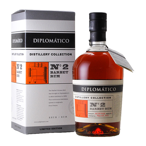 Diplomatico Distillery Collection �2 Barbet Rum/47%