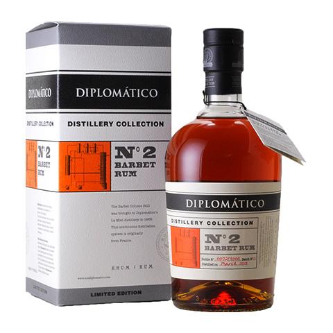 Diplomatico Distillery Collection №2 Barbet Rum/47%