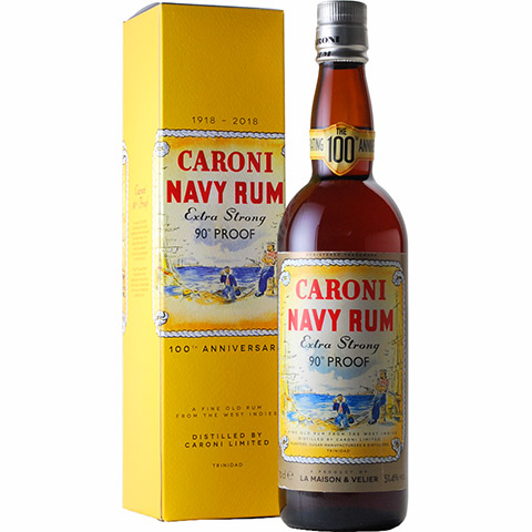 Caroni 18yo 100th Anniversary Replica/51.4%