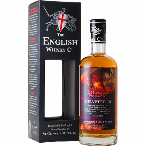 The English Whisky 2008 Chapter13/49%