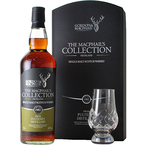 Pulteney 1982-2015 Glass Set/43%