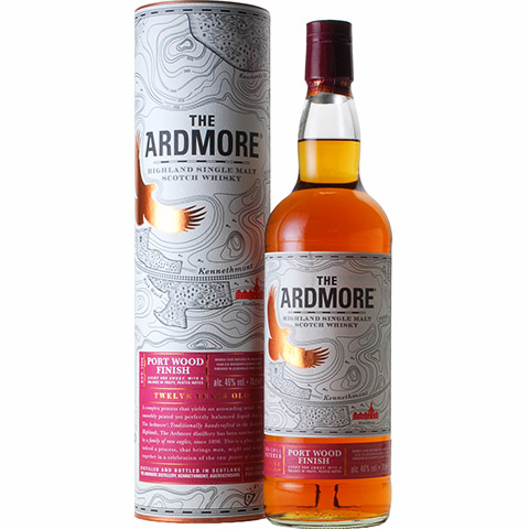 Ardmore 12yo Port Wood Finish/46%