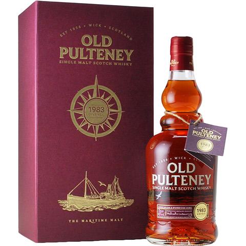 Old Pulteney 1983/33yo/46%