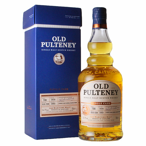 Old Pulteney 2002-2020/54.7%