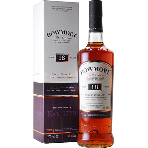Bowmore 18yo Deep & Complex/43%