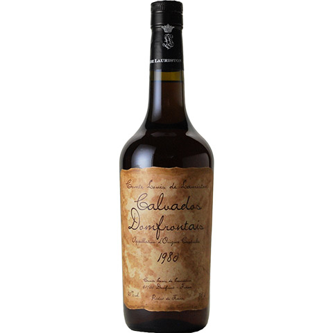 Lauriston Calvados Domfrontais 1980/40%