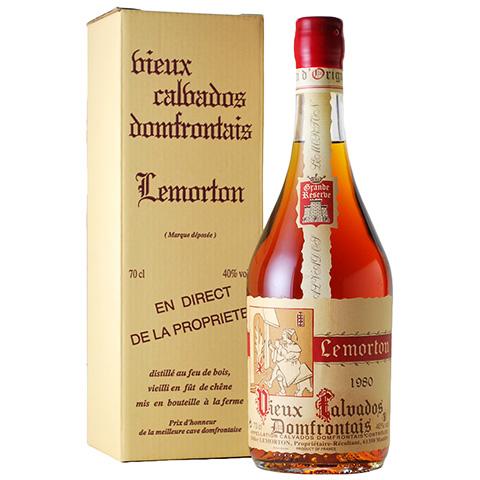 Lemorton Vieux Calvados Domfrontais 1980/40%