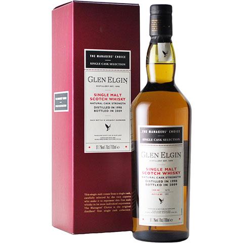 Glen Elgin 1998/11yo/61.1%