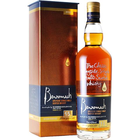 Benromach 15yo/43%
