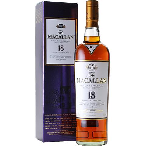 The Macallan 18yo Annual 2017 Release/43%