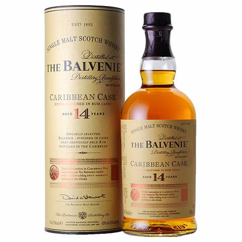 Balvenie 14yo Caribbean Cask/43%