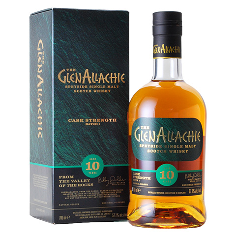 Glenallachie 10yo Cask Strength Batch 1/57.1%