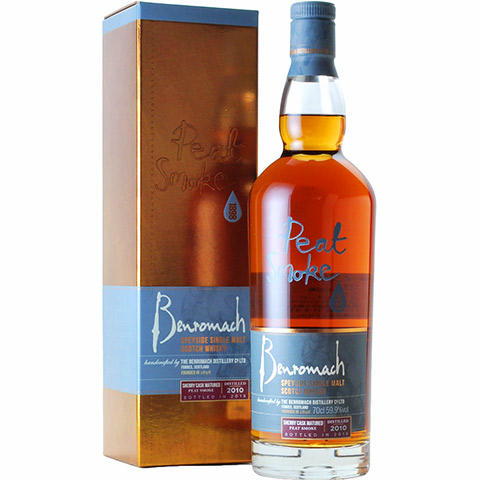 Benromach 2010 Peat Sherry Cask/59.9%