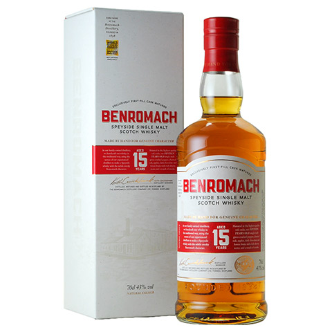Benromach 15yo New Look Range/43%