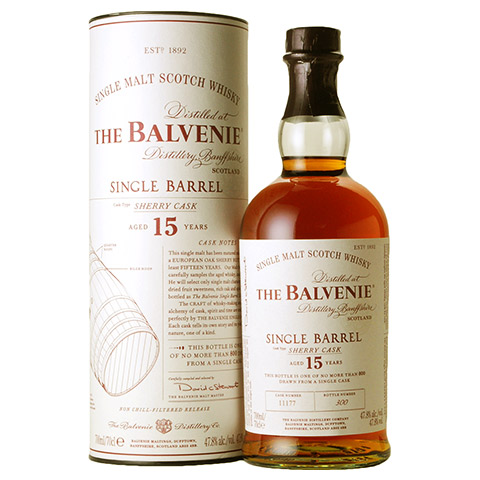 Balvenie 15yo Single Barrel - Sherry Cask/47.8%