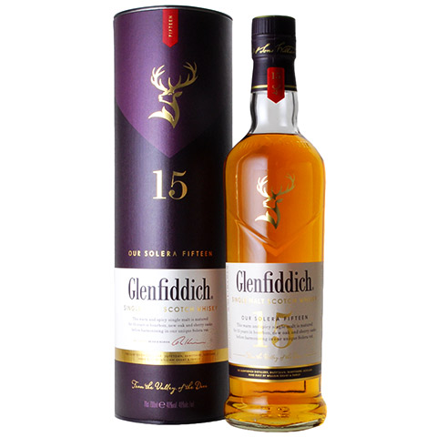 Glenfiddich 15yo Our Solera Fifteen/40%