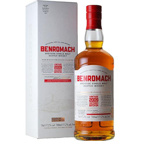 Benromach 2009-2020/57.2%