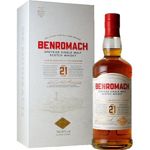 Benromach 21yo/43%