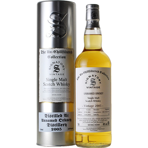 Unnamed Orkney 2005/12yo/46%