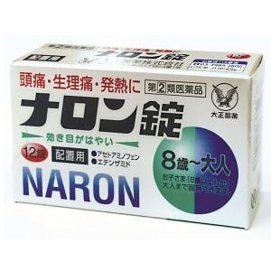 【指定第2類医薬品】ナロン錠