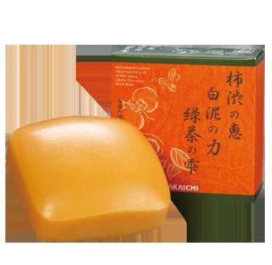 モチノキ)柿渋石鹸 100g