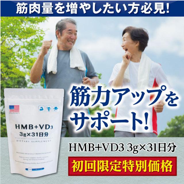 HMB+VD3 3g×31日分(アルミ袋入り)
