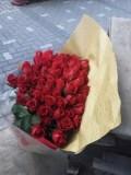 還暦祝い 花束 赤バラ60本