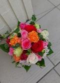 【完全予約制】アレンジメント(幸せ溢れる♪オレンジ&ピンク系)