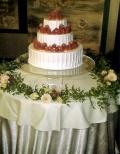ケーキまわり&ケーキナイフ装花セット