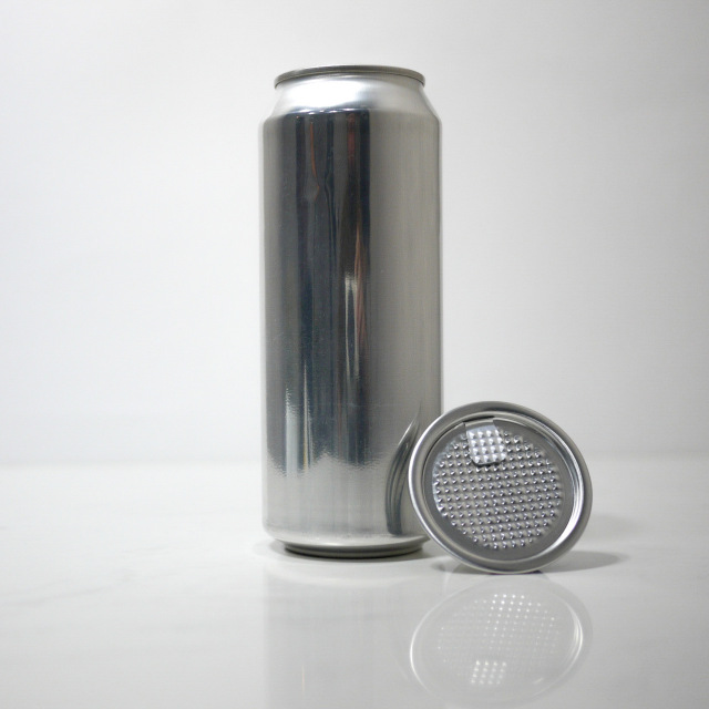 TOP-CAN専用アルミ容器 500ml  100個蓋付(フィルムtype)