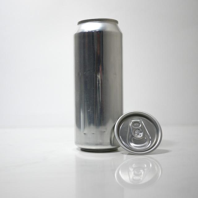 TOP-CAN専用アルミ容器 500ml  100個蓋付(プルタブtype)