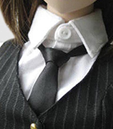 ネクタイ 黒 02A