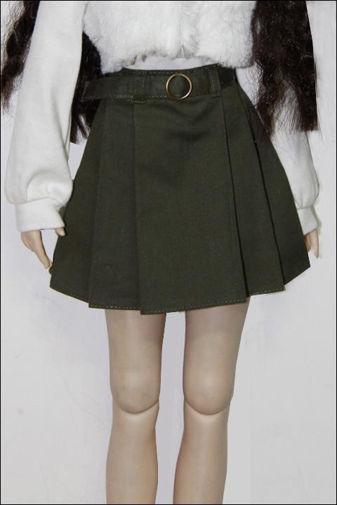 DD用カーキ色スカート