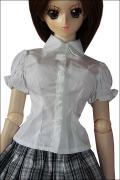 DD用半袖Yシャツ 白 L胸