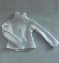MSD用 ネックTシャツ 白 NO.0907