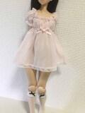 Angelphilia(vmf50)/オビツ50用 半透けワンピース 薄ピンク